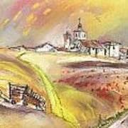 Fuente Del Cuellar In Spain Art Print