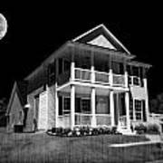 Full Moon Estate Art Print