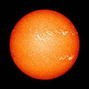 Full Sun Showing Coronal Mass Ejection Art Print