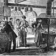 Fulton Fish Market, 1870 Art Print