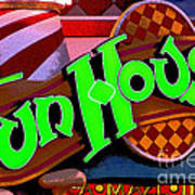 Funhouse Art Print by Colleen Kammerer