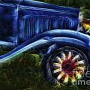 Funky Old Car Art Print