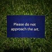 Funny Sign Art Print