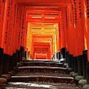 Fushimi Inari Shrine Pic.1 Art Print