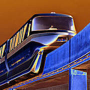 Future Monorail Art Print