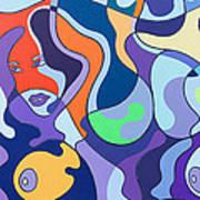Fuzzy Island Art Print