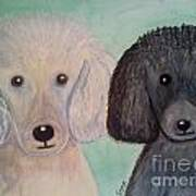 Gabriel And Belle Art Print