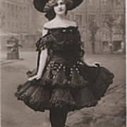 Gabrielle Ray Ca.1905 Art Print