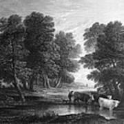 Gainsborough: Scenic View Art Print
