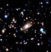 Galaxy Cluster Art Print