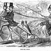 Gallant Admirers, 1869 Art Print