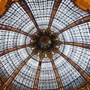 Galleries Laffayette Paris France Art Print