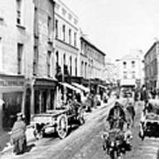 Galway Ireland - High Street - C 1901 Art Print