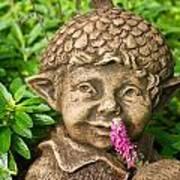 Garden Elf 2 Art Print