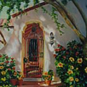 Garden Entry  Art Print