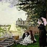 Garden House On The Zaan - Zaandam Art Print