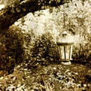 Garden Lantern Art Print