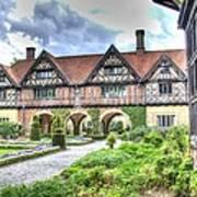 Garden Of Cecilenhof Palace Germany Art Print