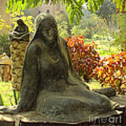 Garden Of Statues Egypt Art Print