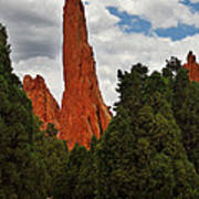 Garden Of The Gods - A Breathtaking Natural Wonder Print by Christine Till