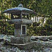 Garden Pagoda Art Print