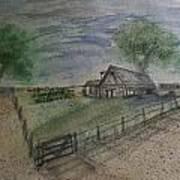 Garden Spot  Art Print