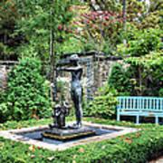 Garden Statuary Art Print