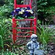 Garden Stil Llife 1 Art Print