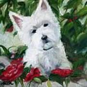 Garden Urn Art Print