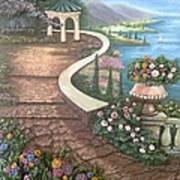 Garden View 3 Art Print by Prashant Hajare