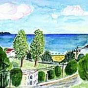 Gardeno Beach Art Print