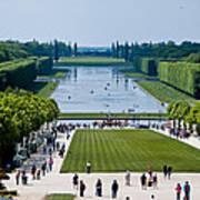Gardens At Palace Of Versailles France Art Print