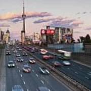 Gardiner Expressway Toronto Art Print