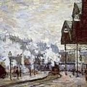 Gare Saint-lazare Art Print