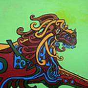 Gargoyle Dog Art Print