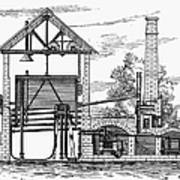 Gas Works, 1815 Art Print
