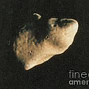 Gaspra, S-type Asteroid, 1991 Art Print