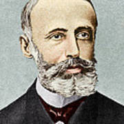Gaston Plante, French Physicist Art Print