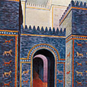 Gate Of Ishtar, Babylonia Art Print by Photo Researchers