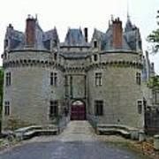 Gate To Chateau De La Bretesche Art Print