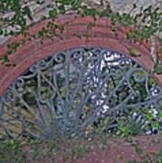 Gate To The Courtyard Art Print
