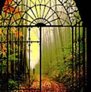 Gates Of Autumn Art Print