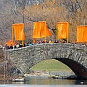Gates Over Gapstow Bridge  Art Print by Frank Winters