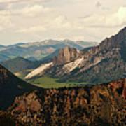Gateway To Yellowstone National Park Art Print