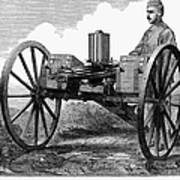 Gatling Gun, 1872 Print by Granger