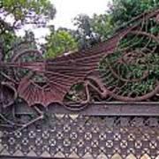 Gaudis Gate Art Print