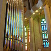 Gaudi's Vision Art Print