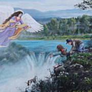 Gaurdian Angel Art Print