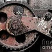 Gear Wheel Art Print