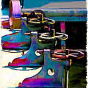 Gears Art Print by Suni Roveto